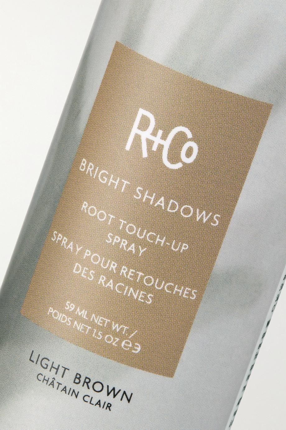 R+Co Bright Shadows Root Touch-Up Spray – Light Brown, 59 ml – Ansatzspray