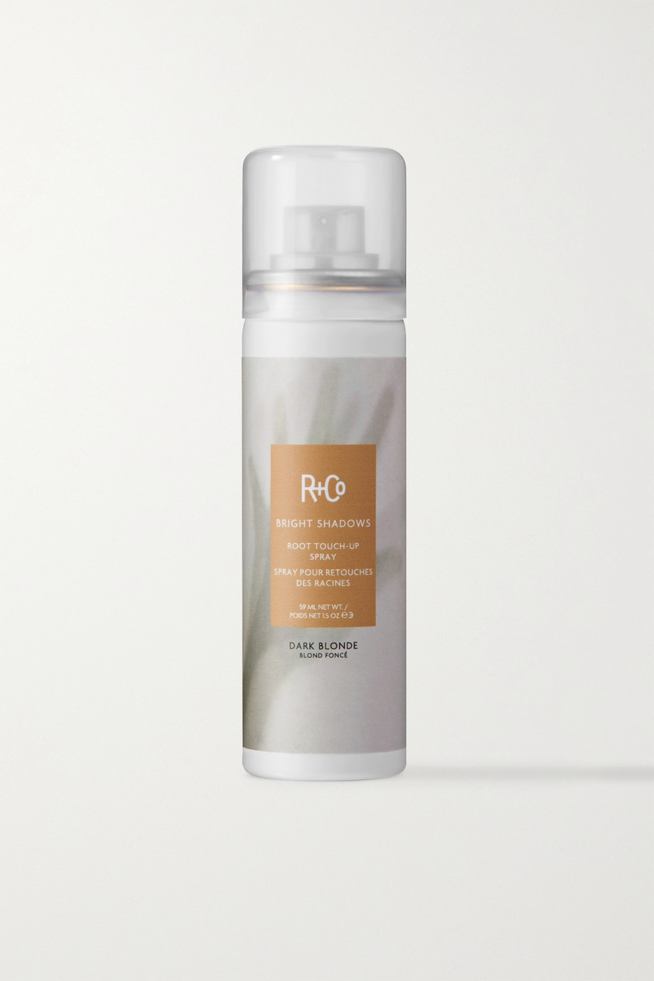 R+Co Bright Shadows Root Touch-Up Spray - Dark Blonde, 59ml