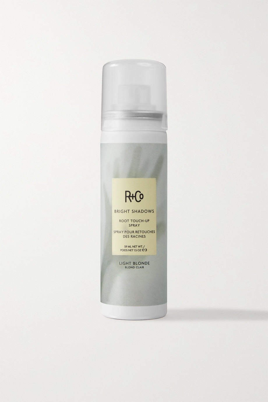R+Co Bright Shadows Root Touch-Up Spray - Light Blonde, 59ml