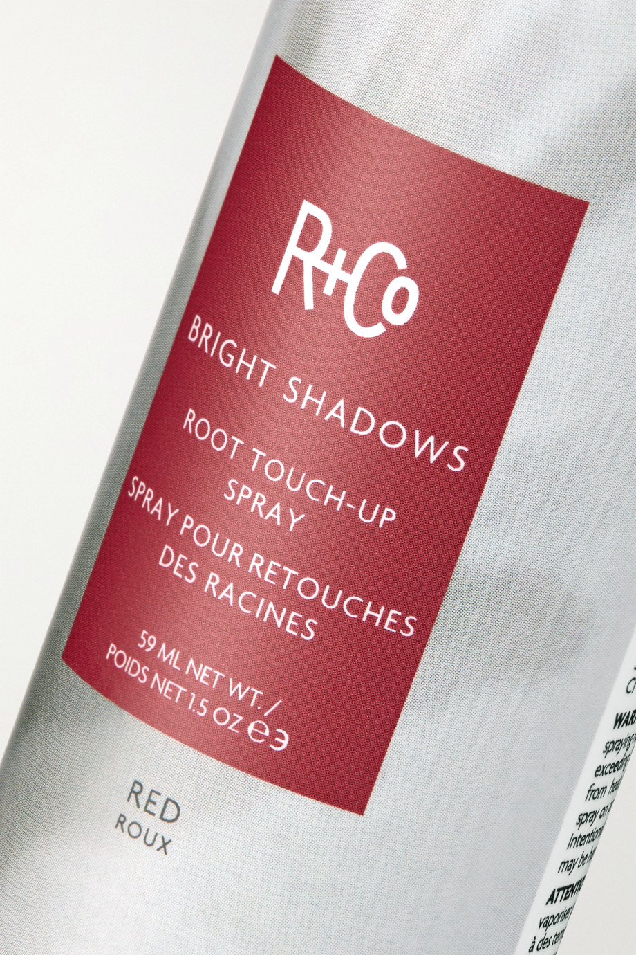 R+Co Bright Shadows Root Touch-Up Spray - Red, 59ml