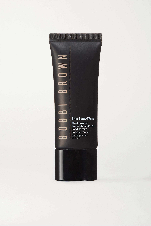 Bobbi Brown Skin Long-Wear Fluid Powder Foundation LSF 20 – Walnut – Foundation