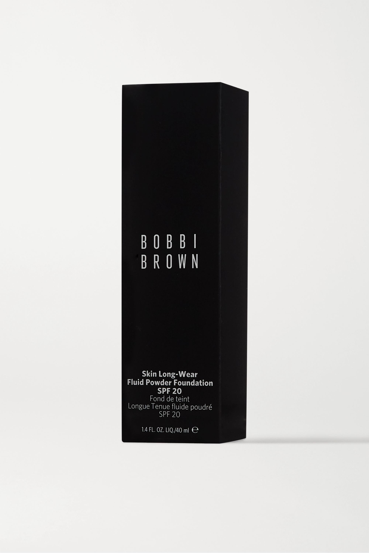 Bobbi Brown Skin Long-Wear Fluid Powder Foundation LSF 20 – Alabaster – Foundation
