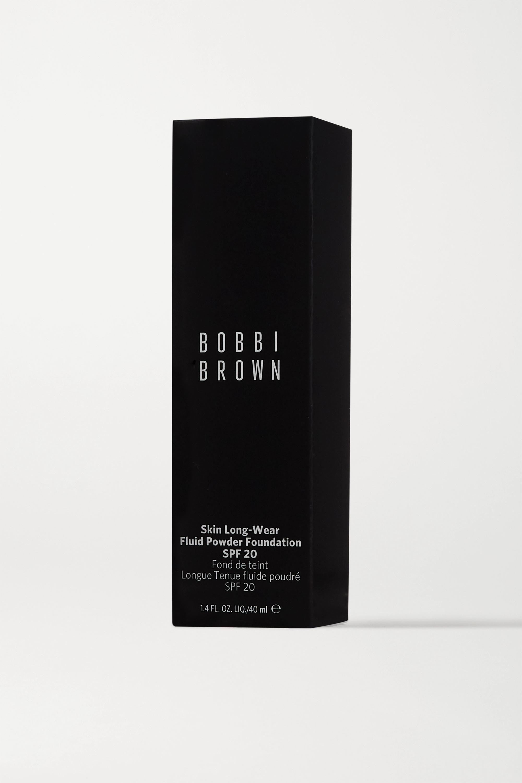 Bobbi Brown Skin Long-Wear Fluid Powder Foundation LSF 20 – Warm Porcelain – Foundation