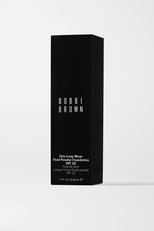Bobbi Brown Skin Long-Wear Fluid Powder Foundation LSF 20 – Natural Tan – Foundation