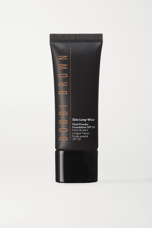 Bobbi Brown Skin Long-Wear Fluid Powder Foundation LSF 20 – Cool Golden – Foundation