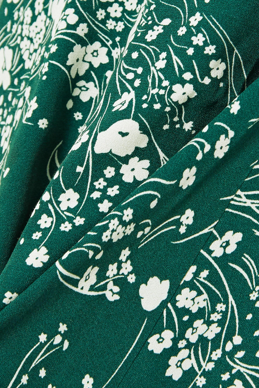 Reformation Tempest floral-print crepe mini dress
