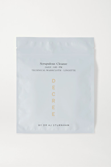 Decree Scrupulous Cleanse Technical Washcloth In Colorless