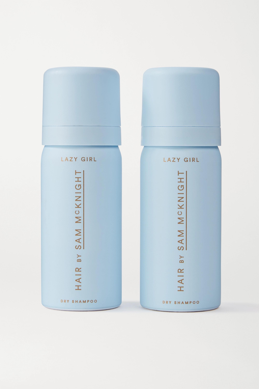 HAIR BY SAM McKNIGHT Lazy Girl Dry Shampoo, 2 x 50ml