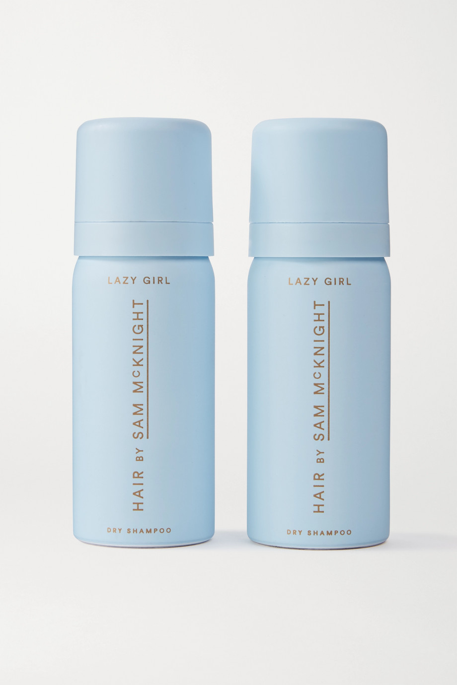 HAIR BY SAM McKNIGHT Lazy Girl Dry Shampoo, 2 x 50ml