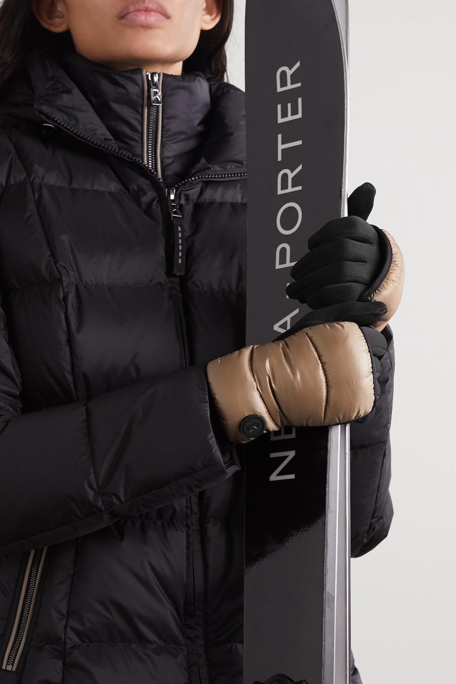 Bogner Touch Handschuhe aus gestepptem Shell und Stretch-Jersey