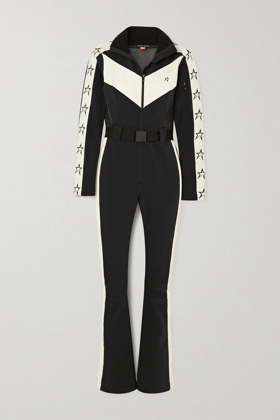 Perfect Moment Ryder belted two-tone ski suit