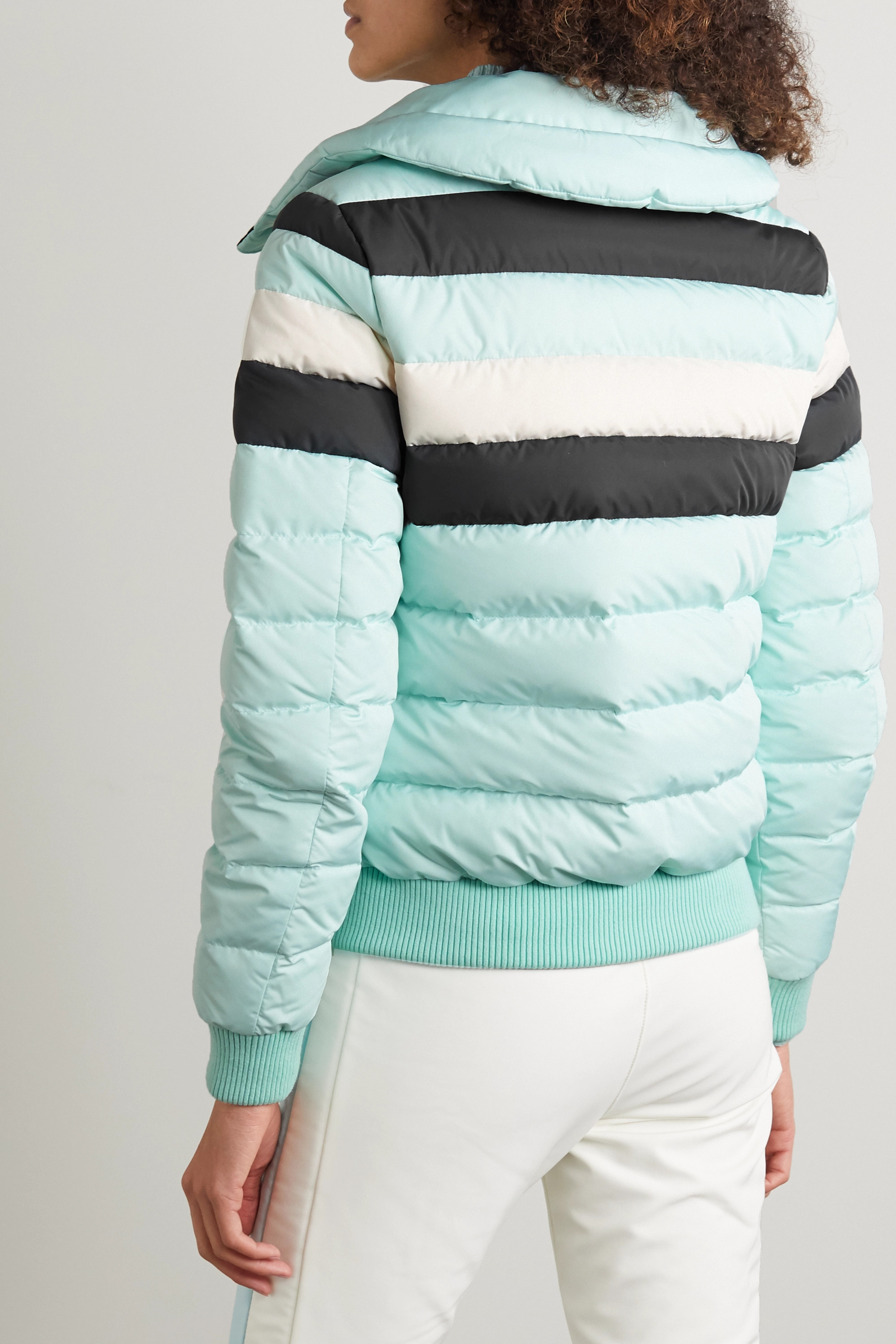 Perfect Moment Queenie padded striped ski jacket