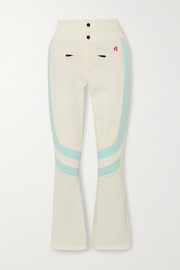 Perfect Moment Aurora two-tone padded flared ski pants