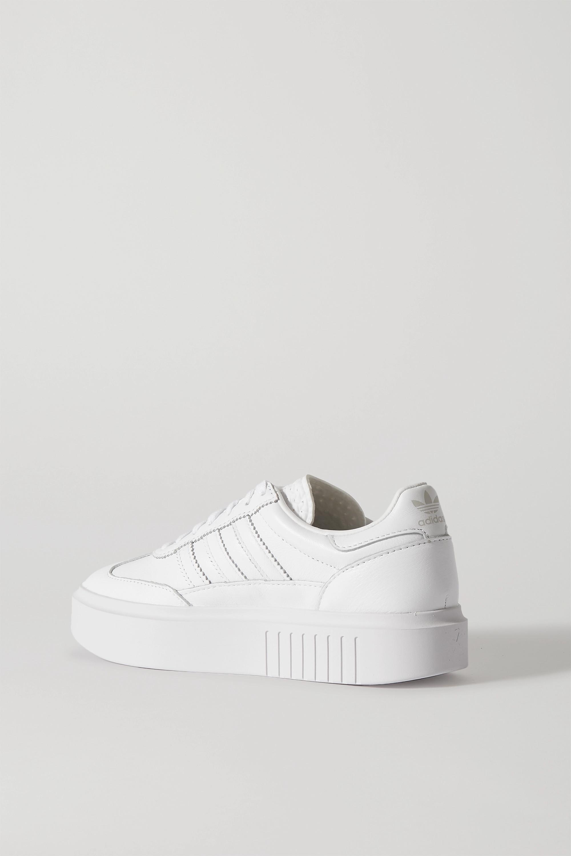 adidas Originals Sleek Super 72 leather platform sneakers
