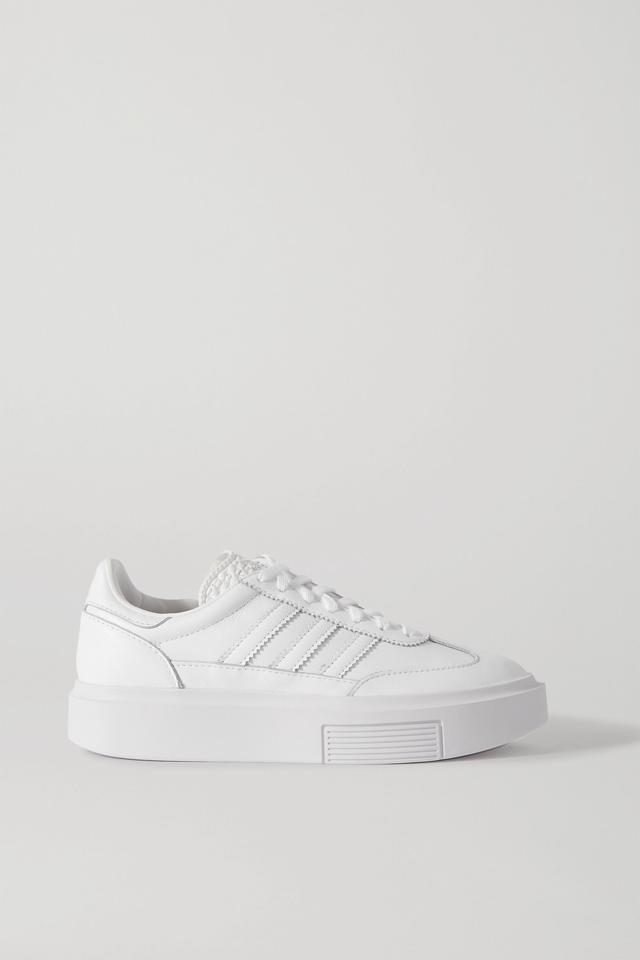adidas Originals Sleek Super 72 leather platform sneakers