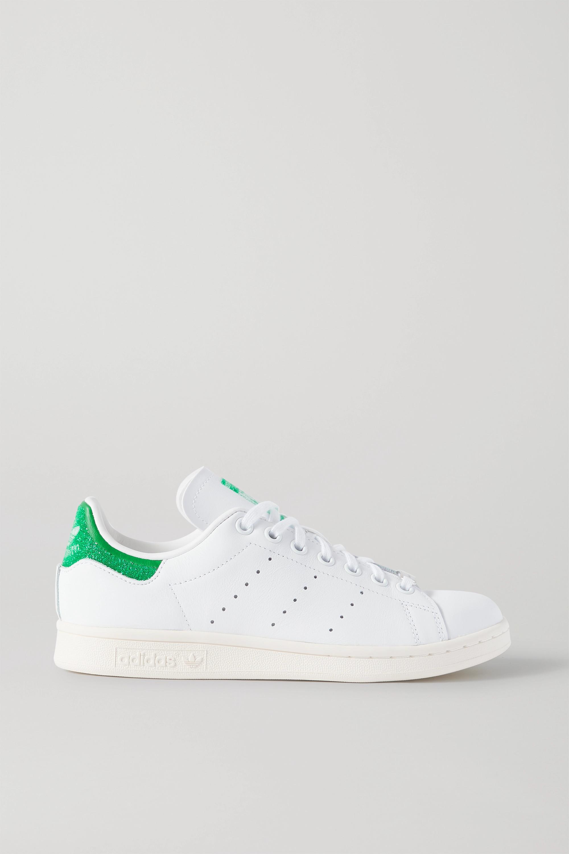 adidas Originals + Swarovski Stan Smith leather sneakers