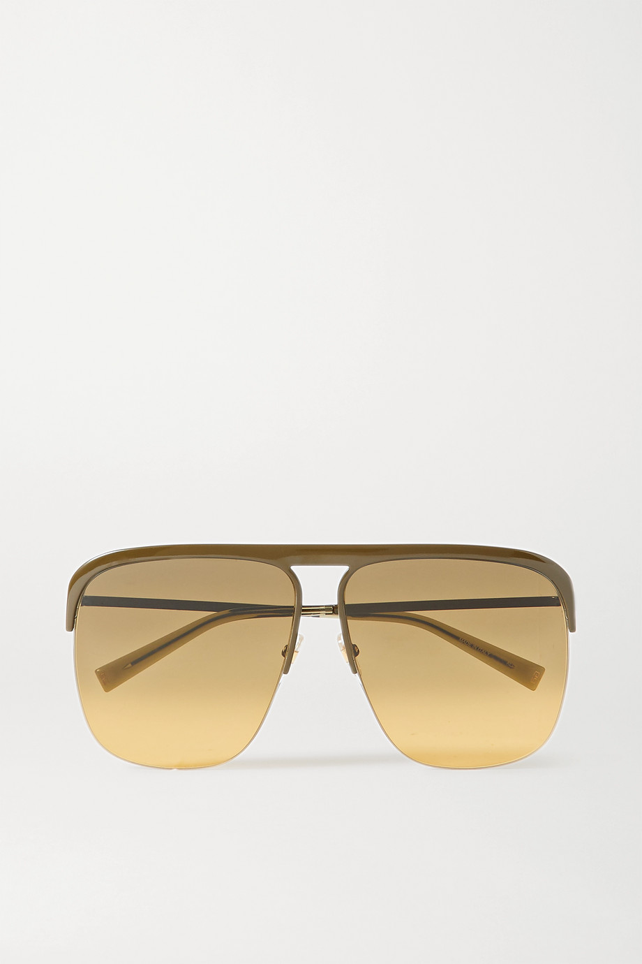 Givenchy Oversized D-frame metal sunglasses