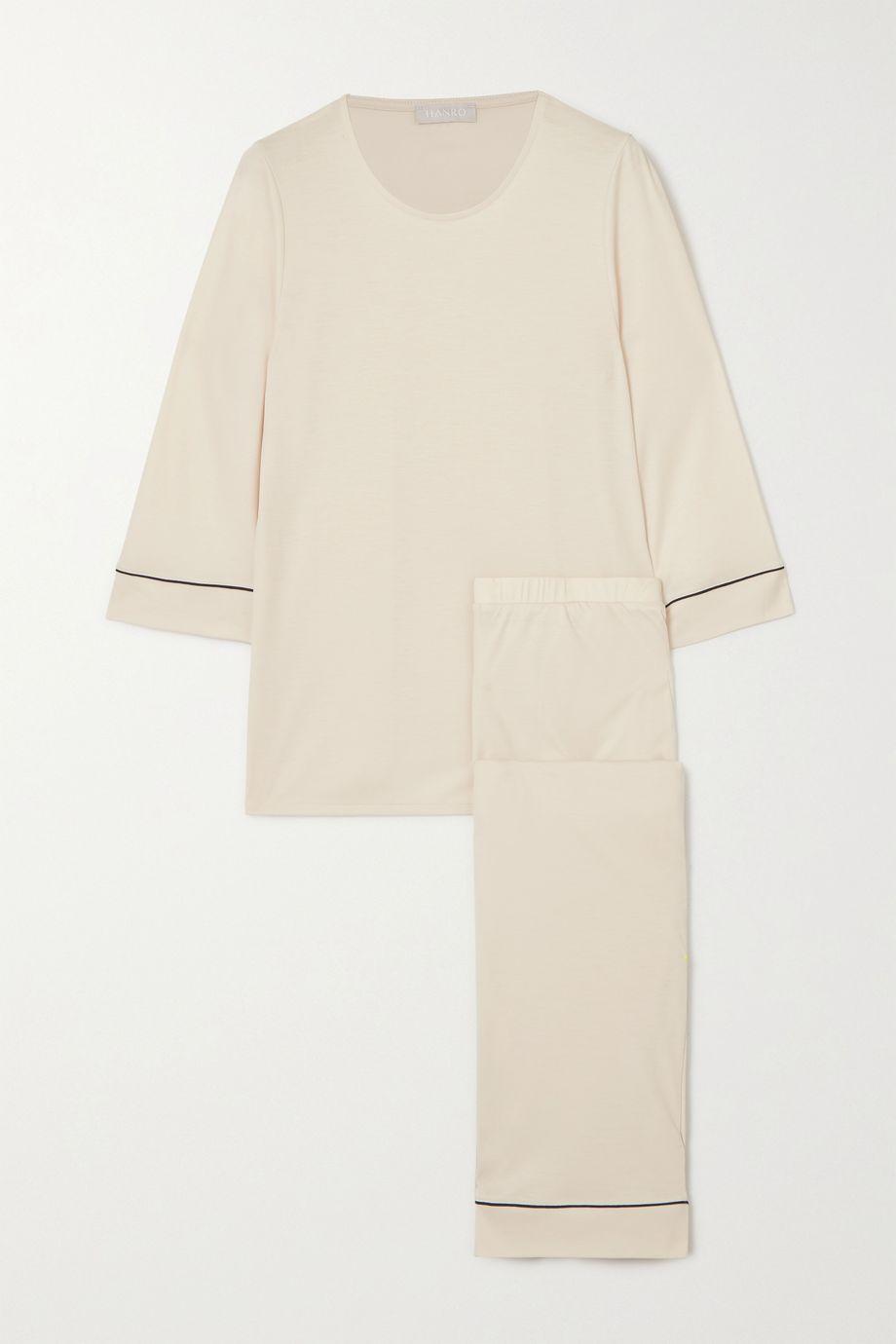 Hanro Natural Comfort Pyjama aus Lyocell