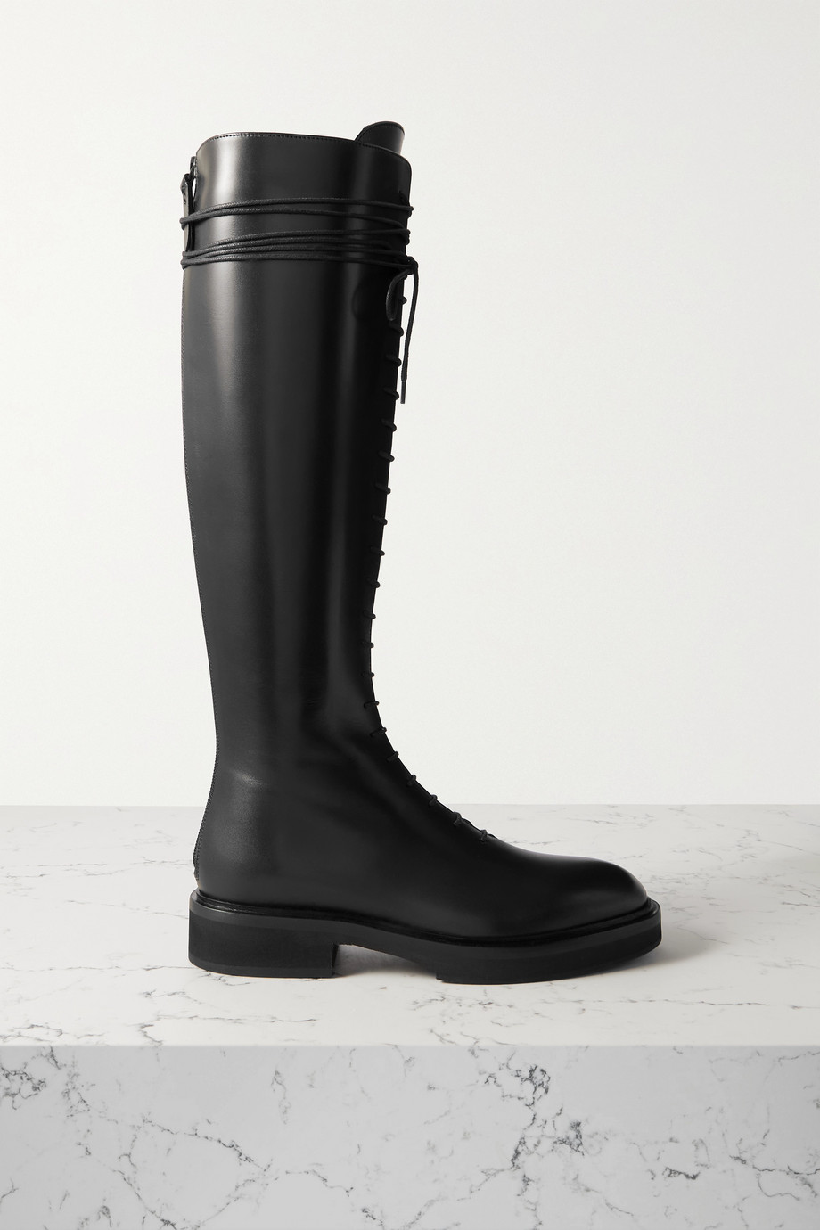 Khaite York leather knee boots
