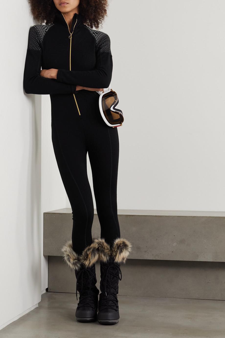 We Norwegians Setesdal merino wool-jacquard bodysuit