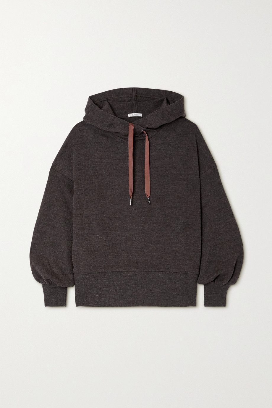 We Norwegians Tind merino wool hoodie