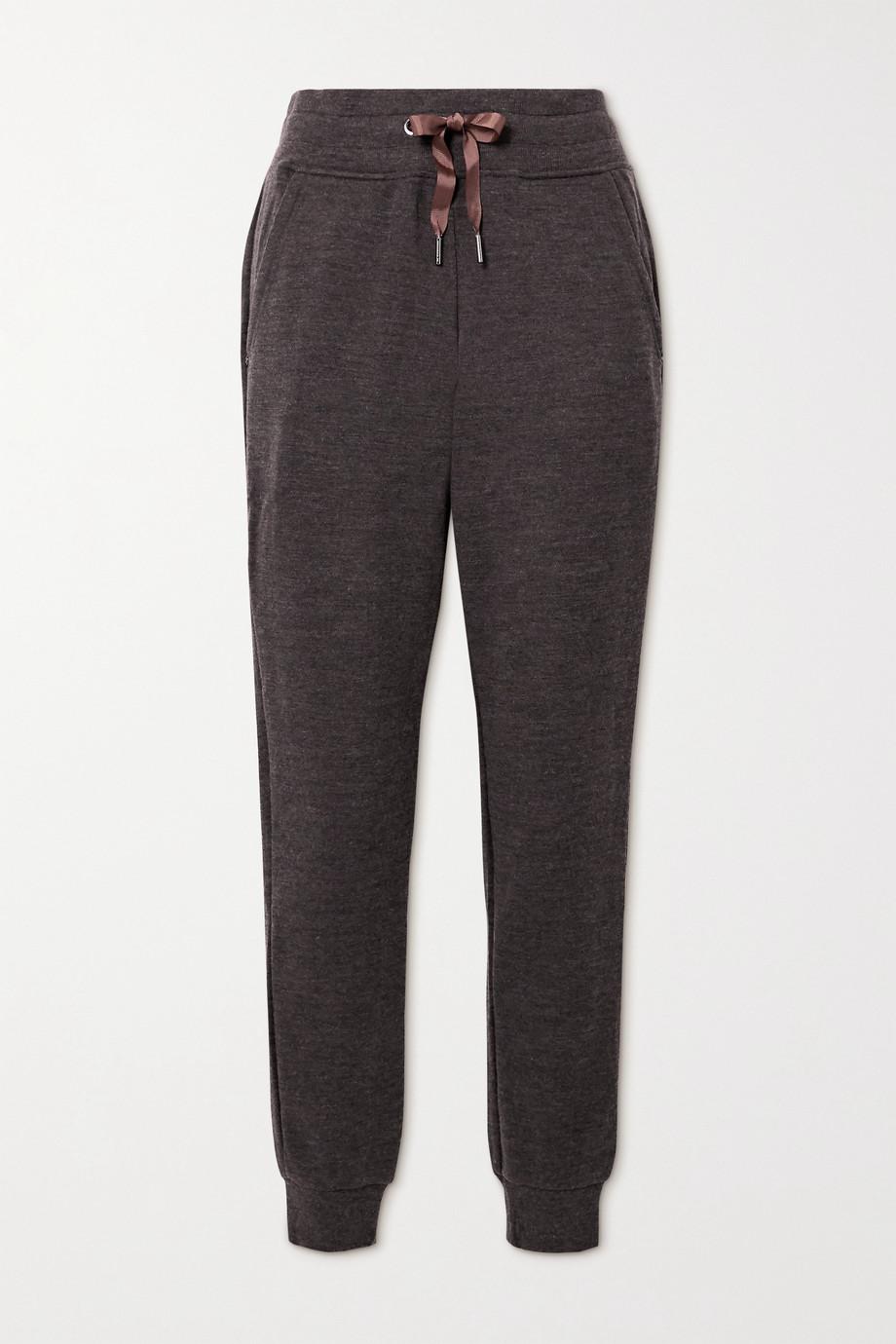 We Norwegians Pantalon de survêtement en laine mérinos Tind