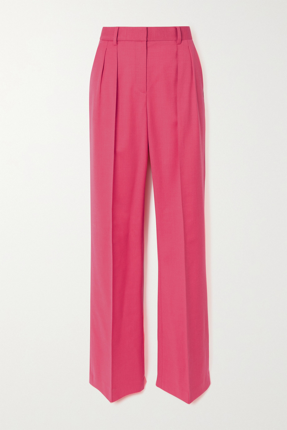 Rebecca Vallance Dallas wool-blend straight-leg pants