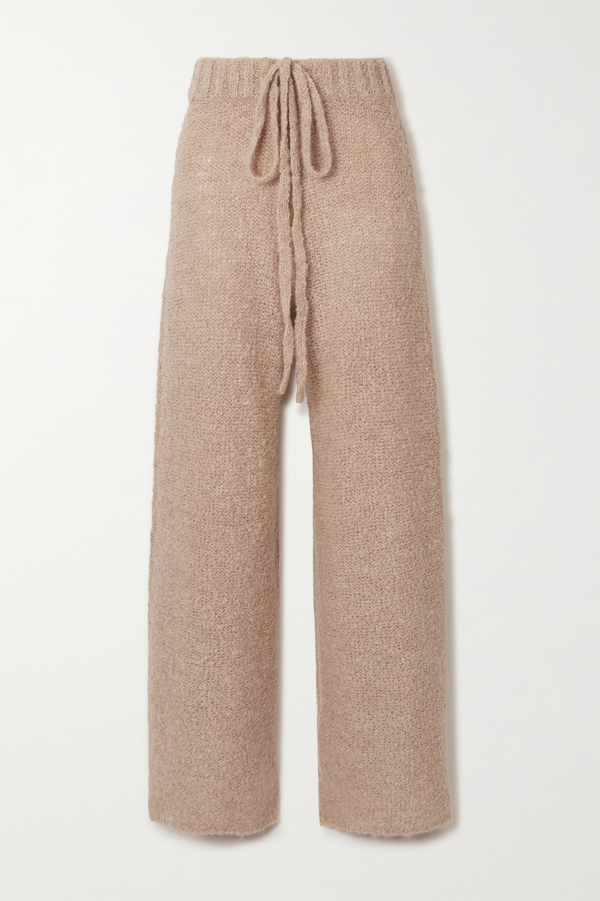 STAUD Chong bouclé wide-leg pants