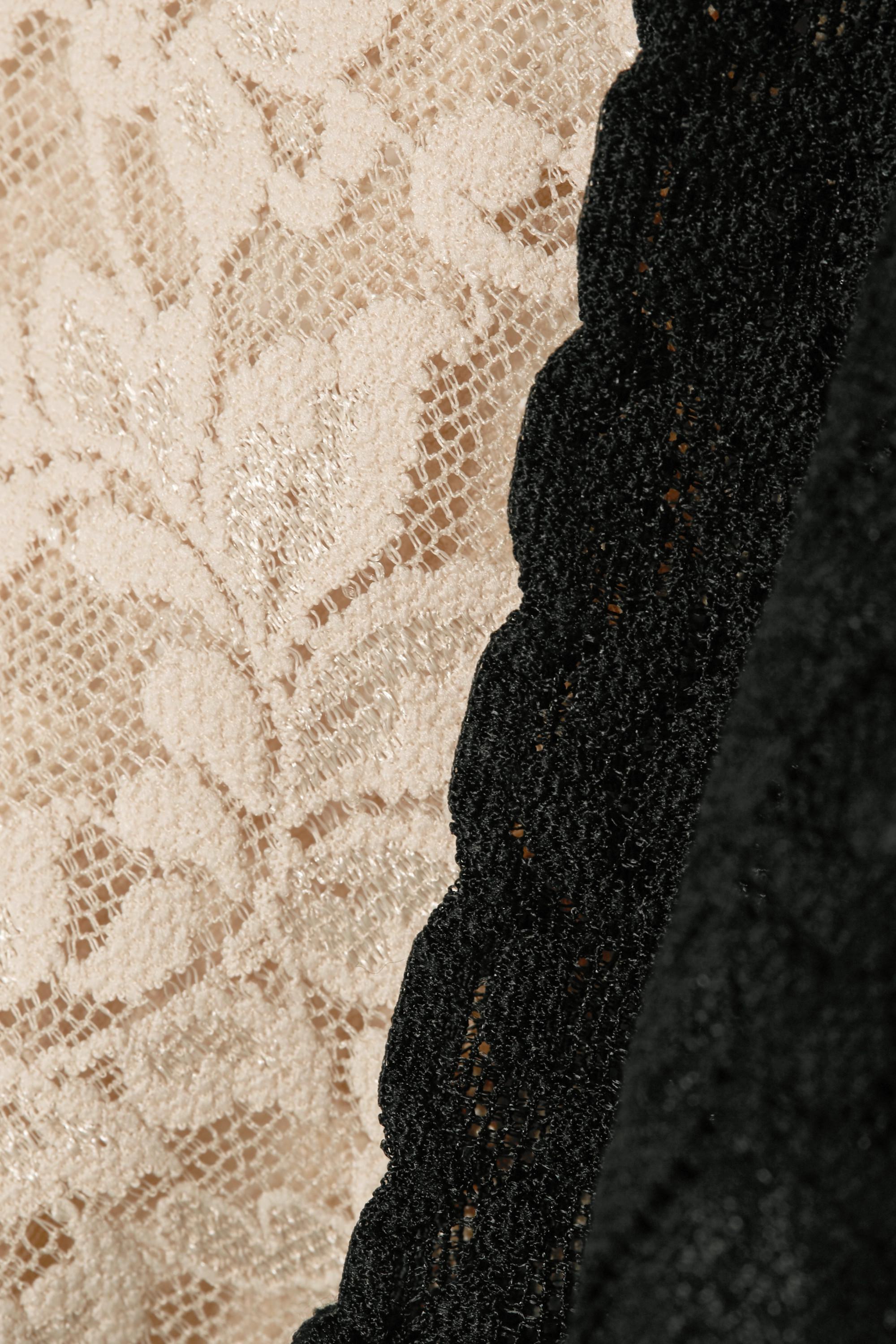 Hanky Panky Retro set of two stretch-lace thongs