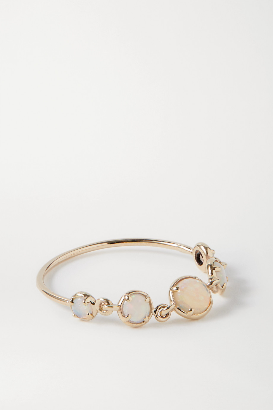 SARAH & SEBASTIAN Chroma Ring aus Gold mit Opalen