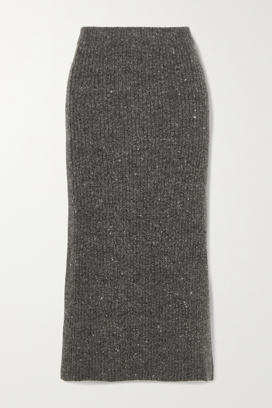 Altuzarra Tony ribbed wool and cashmere-blend midi skirt