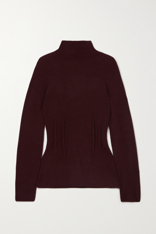 Altuzarra Loretta ribbed cashmere turtleneck sweater
