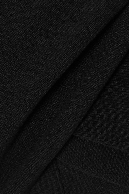 Altuzarra Virginia off-the-shoulder wrap-effect wool and cashmere-blend sweater