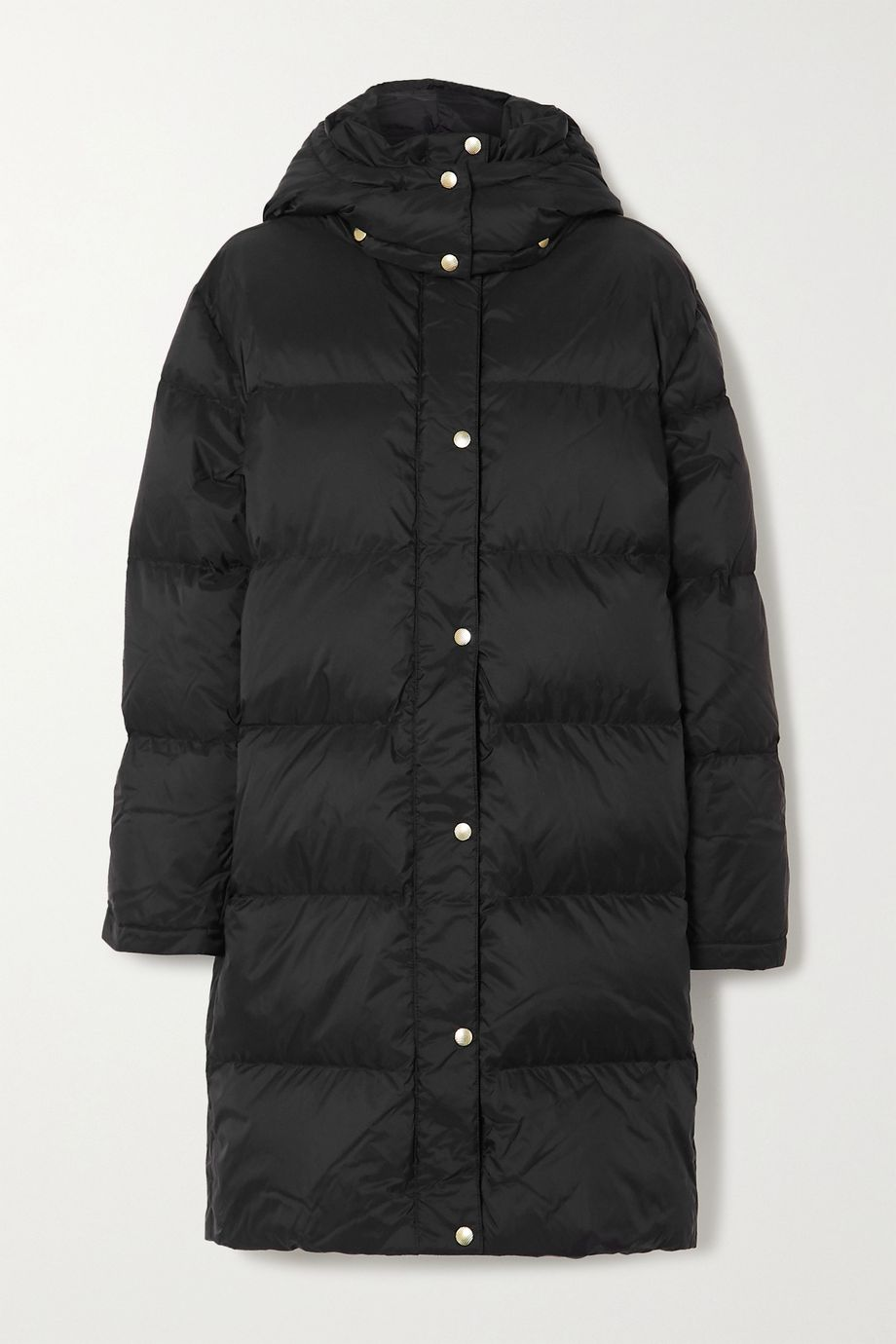 By Malene Birger Ebba quilted shell hooded coat