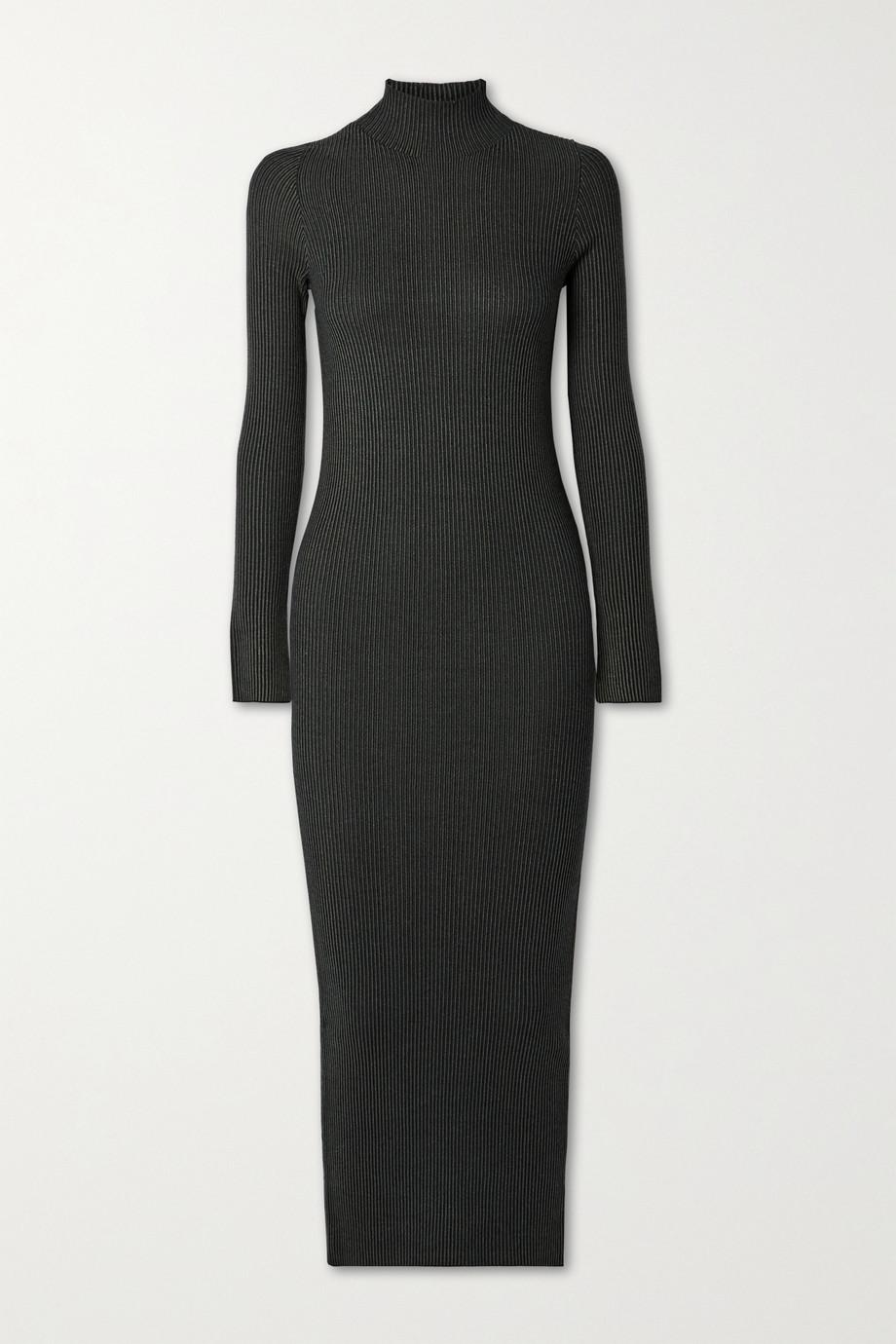 By Malene Birger Cavea ribbed-knit midi dress