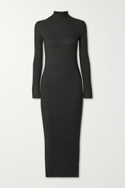 By Malene Birger Cavea ribbed-knit midi dress