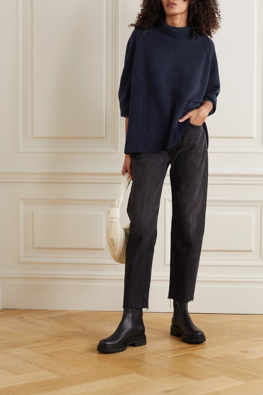 By Malene Birger Aleya oversized alpaca-blend turtleneck sweater