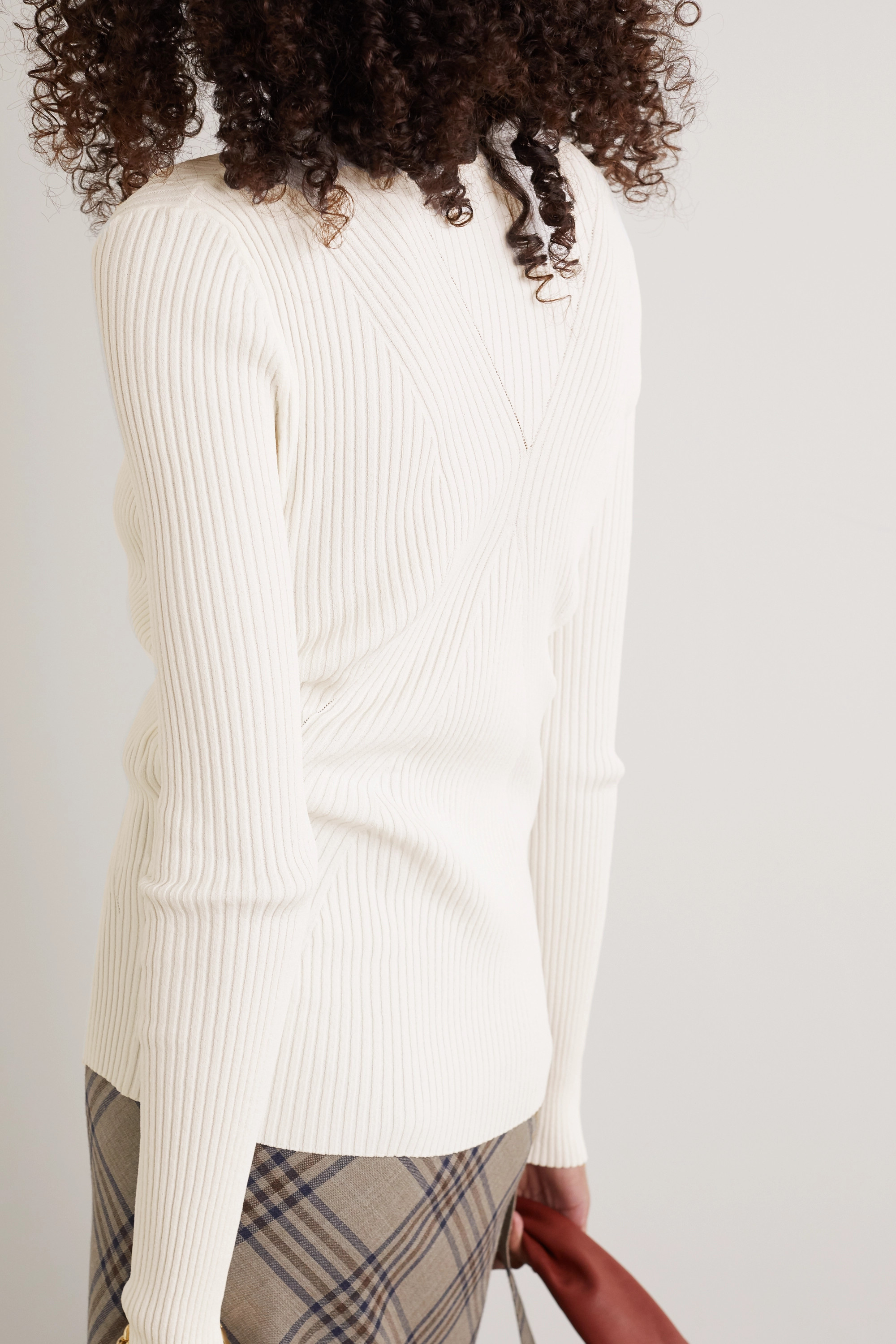 By Malene Birger Dinah ribbed-knit sweater