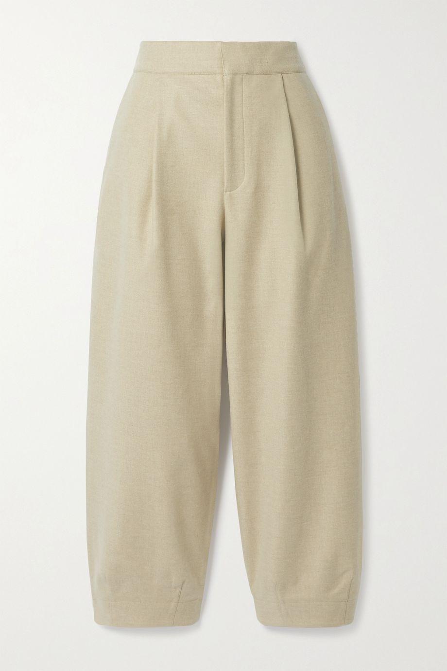 Tibi Stella flannel pants