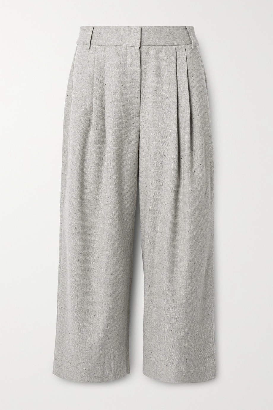 Tibi Lola pleated tweed culottes