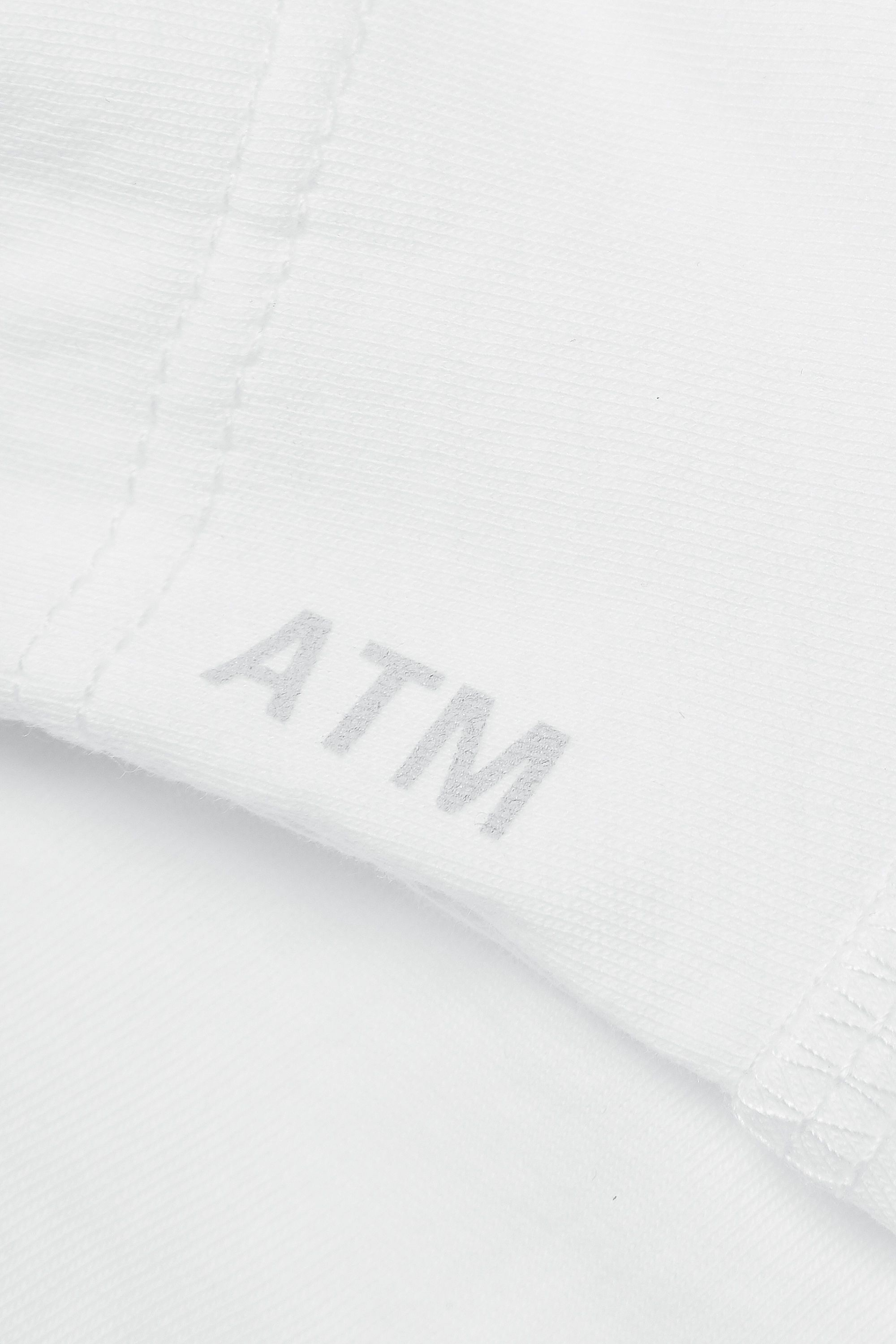 ATM Anthony Thomas Melillo Cotton-jersey peplum T-shirt