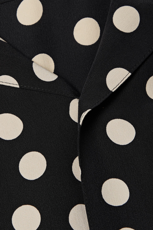 EQUIPMENT Archive 1 polka-dot silk shirt
