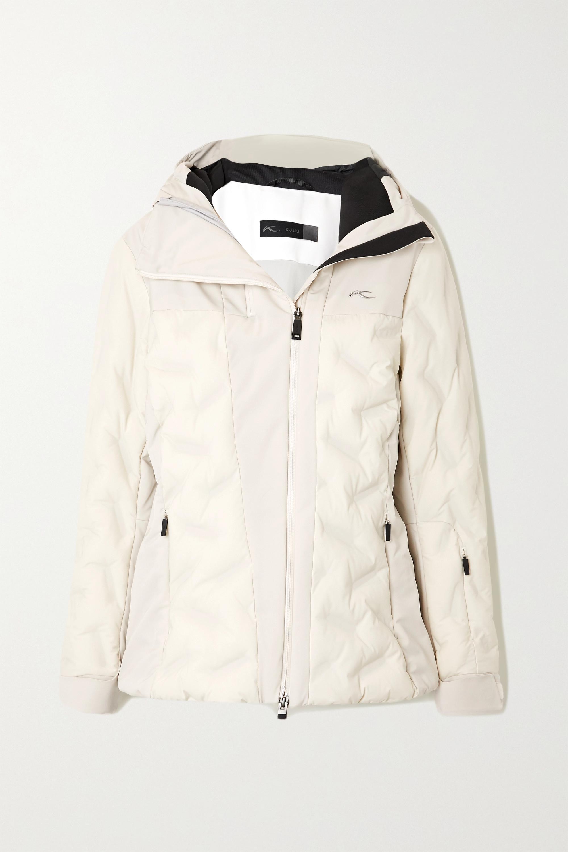 Kjus Ela hooded quilted ski jacket