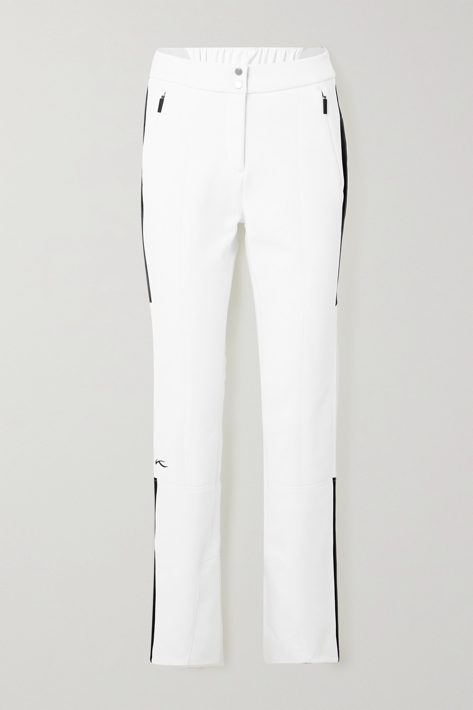 Kjus Sella Jet two-tone bootcut ski pants