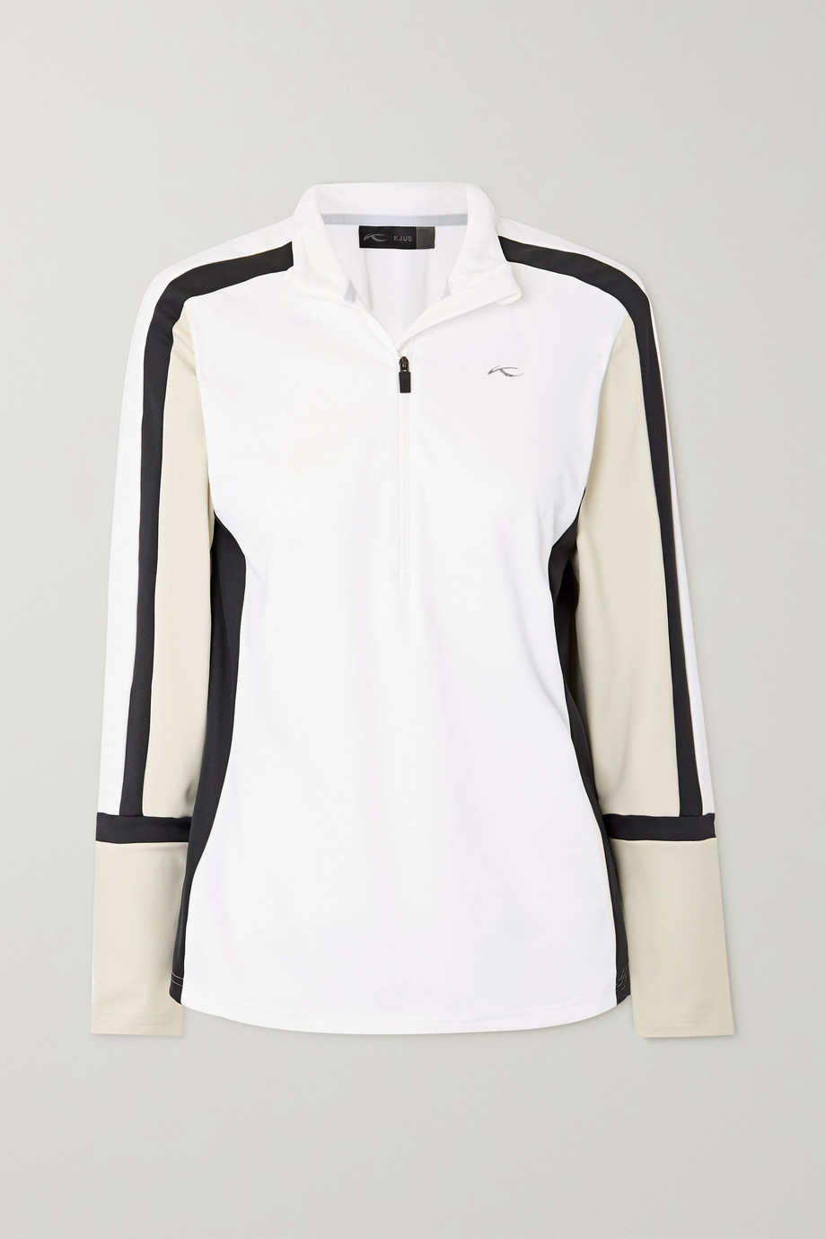 Kjus Race color-block stretch-jersey turtleneck top