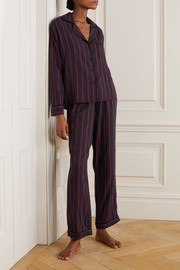 Rails Clara striped voile pajama set