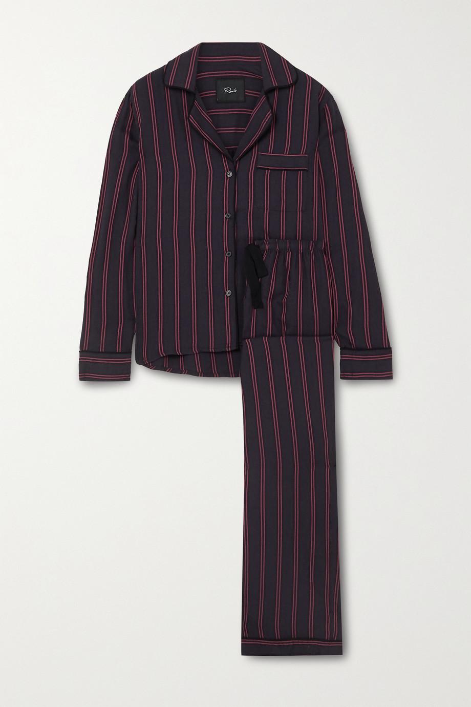 Rails Clara striped voile pajama set