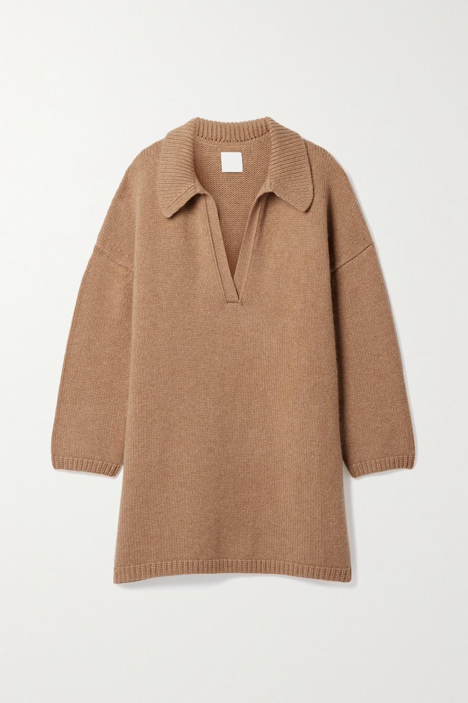 Khaite Sebastian oversized cashmere sweater