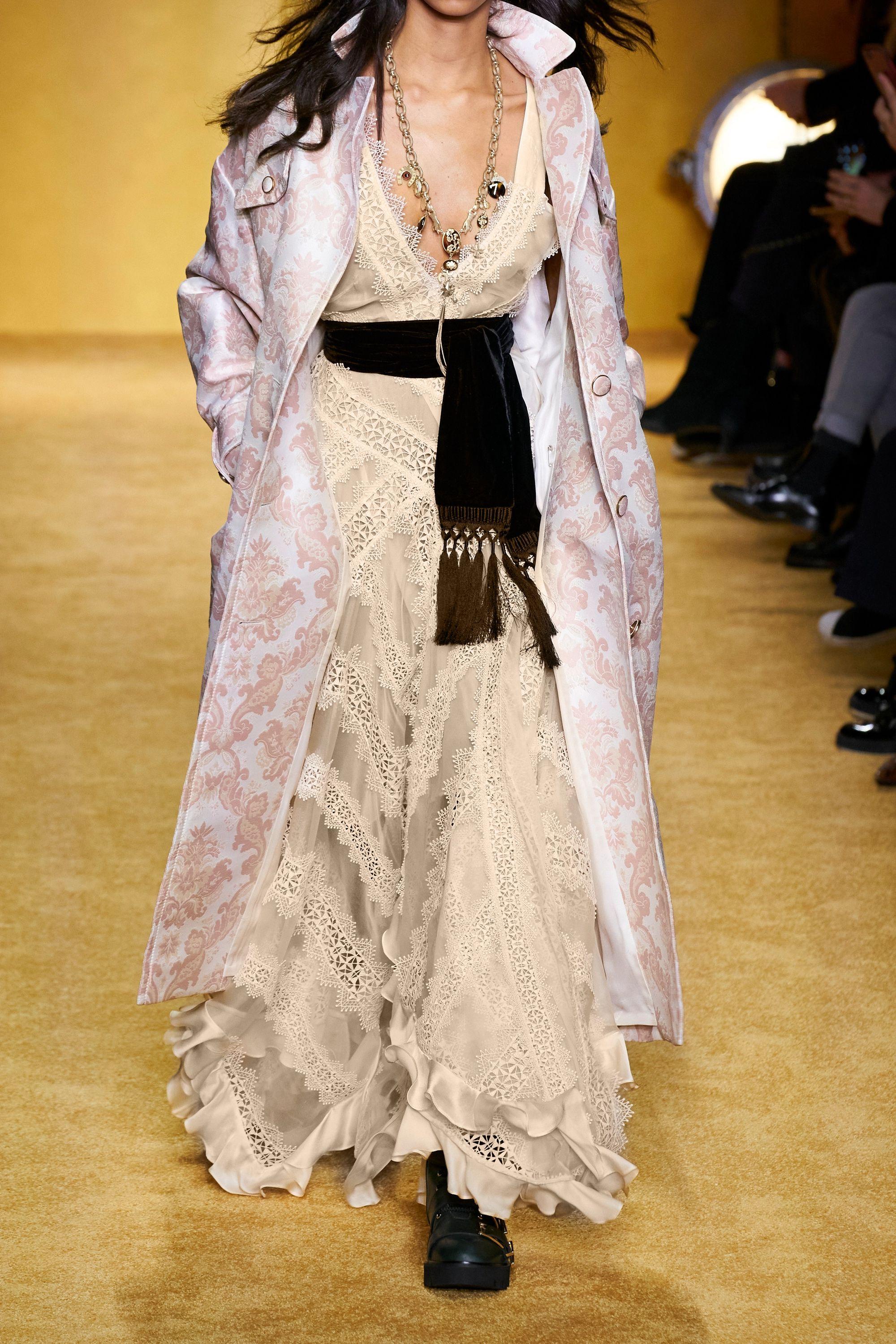 Zimmermann Charm Star ruffled silk-organza and guipure lace maxi dress