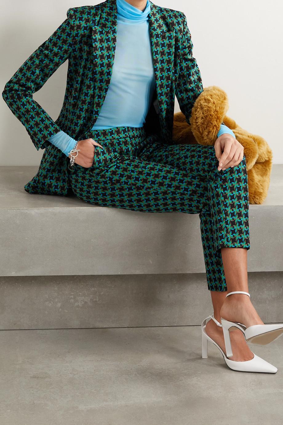 Diane von Furstenberg Petra jacquard blazer